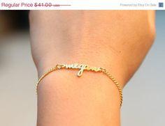 SALE Personalized Dainty Name Bracelet-Children by AshleeArtis