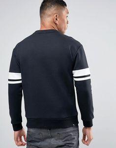 Puma   Puma Logo Crew Sweatshirt In Black 83833601