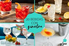 Gin Fizz, Gin And Tonic, Bartender, Alcoholic Drinks, Dinner Recipes, Table Decorations, Cartoon Quotes, Food, Tips