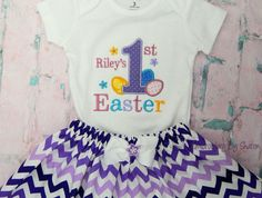 Excited to share the latest addition to my shop: Baby Girls first Easter Outfit , Girls Easter Outift, Bodysuit/ Skirt -can be Personalized for free Daddys Little Girls, Baby Girls, Easter Outfit For Girls, Little Girl Photos, Shark Shirt, Easter Dress, Baby Girl Dresses, Boy Outfits, Bodysuit