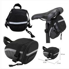 amazones gadgets Bicycle Bike Cycling Outdoor Portable Saddle Bag Back Seat Bag: Bid: 13,69€ Buynow Price 13,69€ Remaining 07 dias 23 hrs…