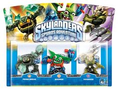 Skylanders: Spyro's Adventure - Triple Character Pack - Voodood, Boomer and Prism Break (Wii/PS3/Xbox 360/PC) - http://www.cheaptohome.co.uk/skylanders-spyros-adventure-triple-character-pack-voodood-boomer-and-prism-break-wiips3xbox-360pc/