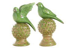 2 Asst. Bird Objets on OneKingsLane.com