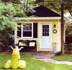 I want a backyard office