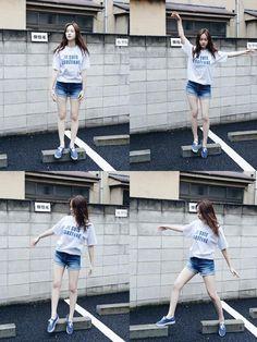 Korean Magazine Lovers (f(x) Krystal - Oh Boy! Magazine June Issue '15)