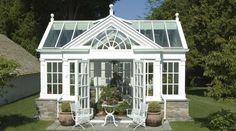 Gabled+Conservatory+Garden+House