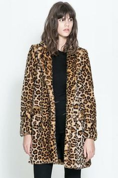 22 faux fur coats to keep you warm this winter!