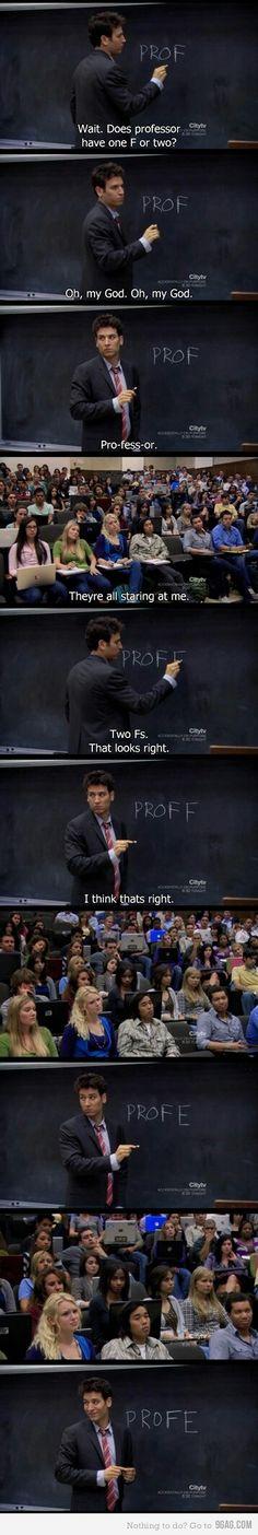 Proff or prof ahah