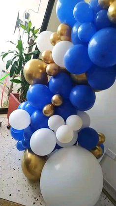 Easter Eggs, Halloween Party, Banana, Food, Balloon Arch, Globe Decor, Manualidades, Arches, Essen