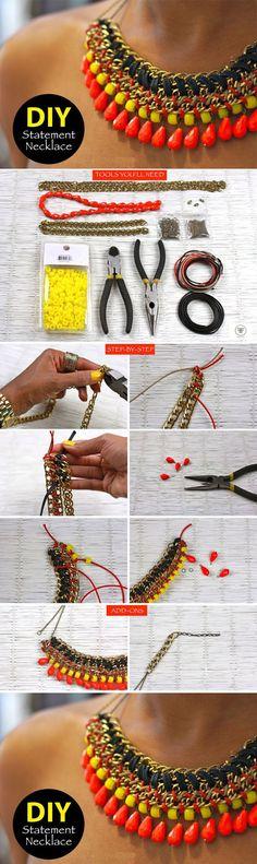 Diy Cool Necklace | DIY  Crafts Tutorials
