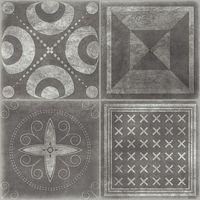 Carrelage imitation ciment graphite KALA 44.7x44.7 cm