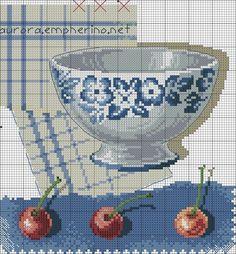 DMC BK285 le bol et les cerises