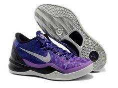Nike Zoom Kobe 8 Easter Black Purple