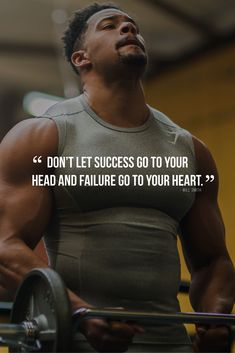 Don&apost let success go to your head and failure go to your hea Don&apost let success go to your head and failure go to your heart. Don't let success go to your head and failure go to your heart. Will Smith quotes Fit Motivation, Fitness Motivation Quotes, Fitness Goals, Fitness Tips, Positive Motivation, Positive Quotes, Fitness Wear, Business Motivation, Inspirational Quotes About Success