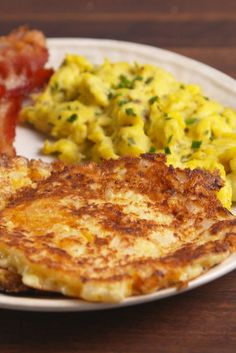 Hash browns get the cauli makeover!  Get the recipe from Delish.