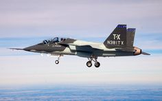 Could the U.S. Air Force's T-X Eventually Turn Into a New Light Fighter?