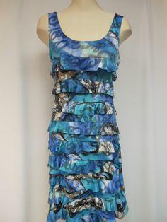 DR760-112- Tango Mango Soft Blue Ruffle Dress – Silhouette Fashion Boutique