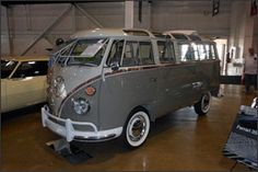 1963 Volkswagen 23-Window Samba Bus. Is this double slug bug going to beat the Gullwing?