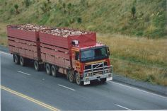 Road Train, Volvo Trucks, Livestock, Rigs, New Zealand, Transportation, Twin, Around The Worlds, Wedges
