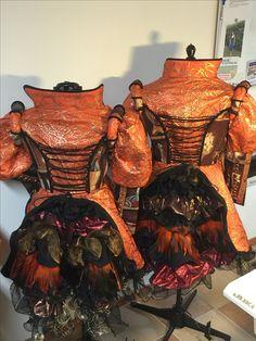 Pakken gemaakt in opdracht Eigen ontwerp gemaakt door Diane reijven Naaiatelier Diane Carnaval Kostuums