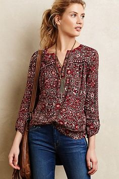 Mataura Top-can't help the boho blouses! Mode Style, Style Me, Boho Bluse, Cool Outfits, Casual Outfits, Boho Fashion, Fashion Outfits, Style Fashion, Fashion Ideas