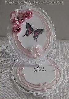 spellbinders opulent ovals | Metallic embellishment