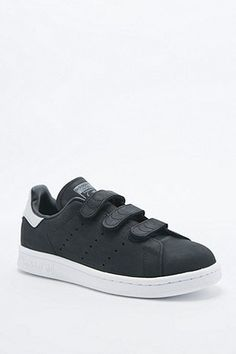 Adidas Originals - Baskets Stan Smith noires à scratch