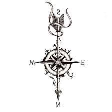 Tattoo Flecha Y Brujula Busqueda De Google Tattoo Flechas Flechas Brujula
