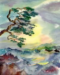 japanese mountain art - Google Search