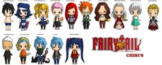 Fairy Tail Chibi's by ChibiReaperArts on DeviantArt