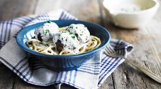 Swedish Style Meatballs by Yeo Valley Meatball Recipes, Meat Recipes, Recipies, Cooking Recipes, Uk Recipes, Simple Recipes, Swedish Style, Weekday Meals, Looks Yummy