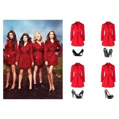 How to Dress Like the Pretty Little Liars Girls for Halloween 2013 ❤ liked on Polyvore featuring outfits