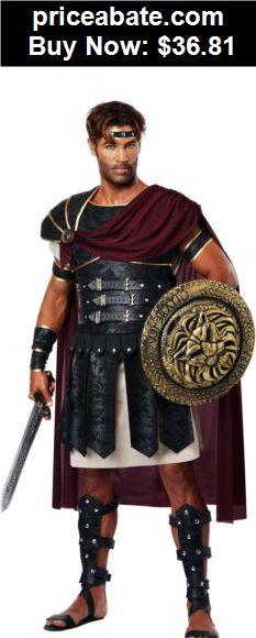 Men-Costumes: Roman Gladiator Spartan Soldier Warrior Greek Trojan Hercules God Costume Mens - BUY IT NOW ONLY $36.81