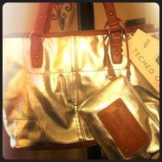 """I just added this to my closet on Poshmark: """"NINE WEST"""" TECHED OUT HANDBAG! Holds Ipad Perfect. Price: $40 Size: OS"""