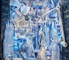 Bergdorf Christmas window 2014