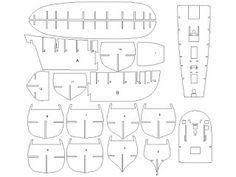 Wooden Model Builder: H.M.S Bounty PDF Drawings