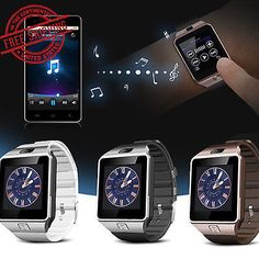 Smart Watches: Dz09 Smart Sports Bluetooth Sim Card Watch Phone Mate Camera For Android Ios Us BUY IT NOW ONLY: $11.29