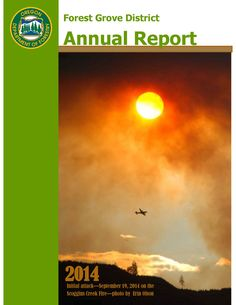 Forest Grove District annual report, by the Oregon Department of Forestry