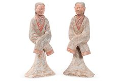 Han Dynasty Pottery Figurines,