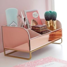 Even Adults Can Appreciate Benefit Cosmetics Glam PBteen Collab Pb Teen, My New Room, My Room, Gold Rooms, Make Up Organiser, Bohemian Bedroom Decor, Cute Room Decor, Vanity Decor, Benefit Cosmetics