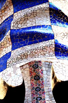 Gaudi Mosaic, Mosaic Art, Barcelona Architecture, Architecture Art, Art Nouveau, Antoni Gaudi Sagrada Familia, Antonio Gaudi, Barcelona Catalonia, Chef D Oeuvre