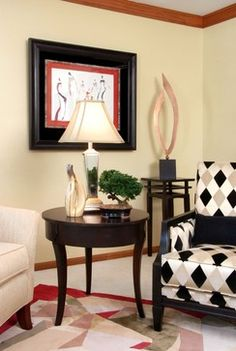 Living room - contemporary - living room - milwaukee - Suzan J Designs - Decorating Den Interiors