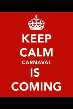 Carnaval is coming to town =)