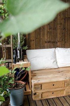 kuhle dekoration loungemobel balkon selber bauen, 390 besten deko-ideen für balkon & terrasse bilder auf pinterest in, Innenarchitektur