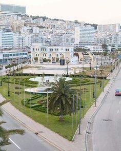 Alger la Blanche هنا الجزائر من العاصمة الجزائرية
