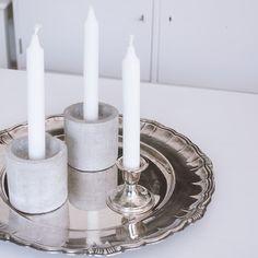 Home details. ✨  #candles #concrete #concretedecor #silvercandlesticks #homedetails #classyinteriors #nordicinspiration #instahome #kynttilät #betoni #kynttilänjalka #havifi #ljus #ljusstake #betongljusstake #nordiskahem