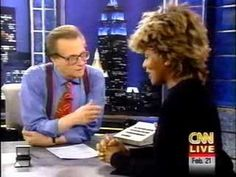 Tina Turner on Larry King discussing chanting & being an SGI buddhist.