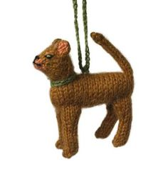 Abyssinian Cat Christmas Ornament