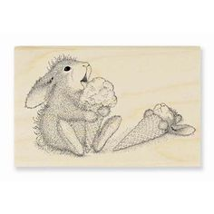 """""""ICE CREAM LICK"""", Stock #: HHM01, from House-Mouse Designs®. This item was purchased off from our web site last night. Click on the image to see more information."""