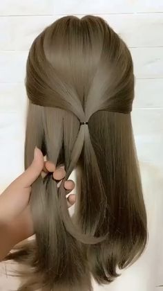 🌟Access all the Hairstyles: - Hairstyles for wedding guests - Beautiful hairstyles for school - Easy Hair Style for Long Hair - Party Hairstyles - Hairstyles tutorials for girls - Hairstyles tutorials Little Girl Hairstyles, Braided Hairstyles, Cool Hairstyles, Beautiful Hairstyles, Woman Hairstyles, Hairstyles Videos, Elegant Hairstyles, Hairstyles With Ribbon, Simple Everyday Hairstyles